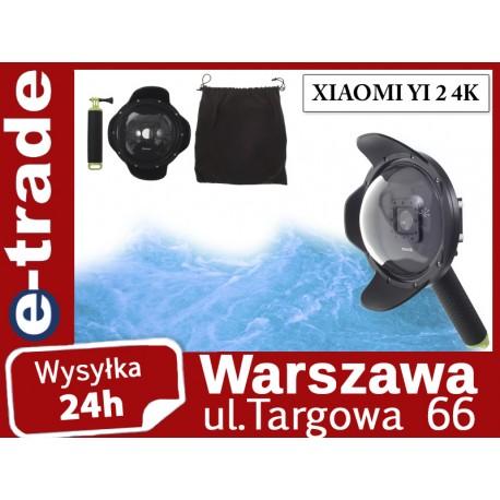 """Obudowa podwodna Dome Port 6"""" do Xiaomi Xiaoyi Yi 2 4K"""