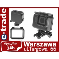Black waterproof housing case for GoPro Hero 5, 6
