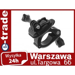 Handlebar Mount for Motorbike with Rotate function, Diameter Between 25mm-30mm