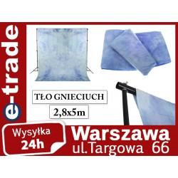 Tło materiałowe gnieciuch 2,8x5 m