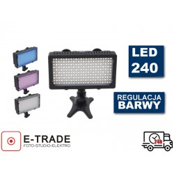 Diodowa lampa bi-color LED 240