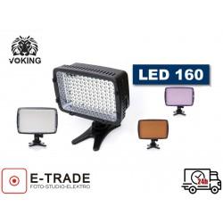 DIODOWA LAMPA DO KAMERY LED 160 VIDEO
