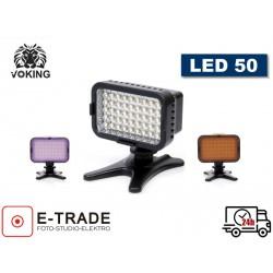 Diodowa lampa do kamery LED 50 video