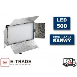 Lampa 500 LED video VOKING + pilot