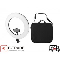 Lampa pierścieniowa LED 60W ze ściemniaczem i regulacją temperatury
