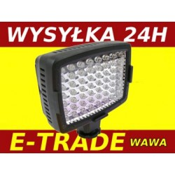 DIODOWA LAMPA DO KAMERY LED 56 VIDEO