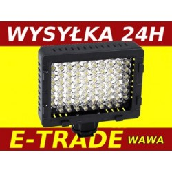 DIODOWA  LAMPA  DO KAMERY LED 76 VIDEO