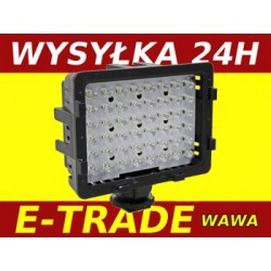 DIODOWA  LAMPA  DO KAMERY LED 48 VIDEO