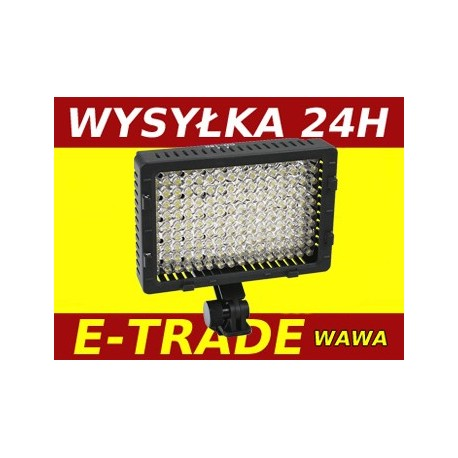 LED 160 DIODOWA LAMPA DO KAMERY VIDEO