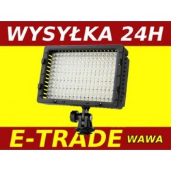 LED 216 DIODOWA LAMPA DO KAMERY VIDEO