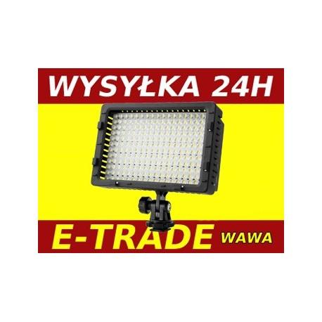 LED 216 DIODOWA LAMPA DO KAMERY VIDEO