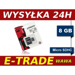 Karta pamięci KINGSTON 8GB microSDHC