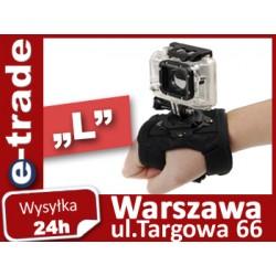 """Opaska """"L"""" na rękę do GoPro"""