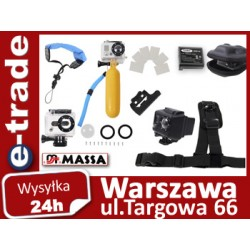 Water sports set of accessories for GoPro HERO 2