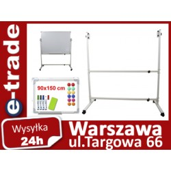 ZESTAW TABLICA SUCHOŚCIERALNA 90x150 + STOJAK